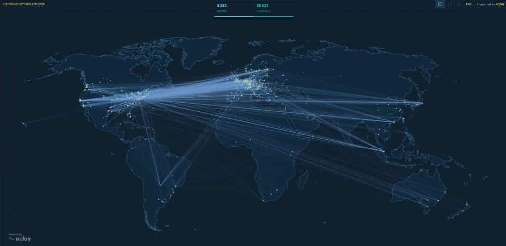 Noeud Bitcoin Lightning Network
